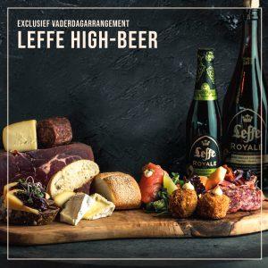 Exclusief Vaderdagarrangement: Leffe High-Beer [16 juni 2019]